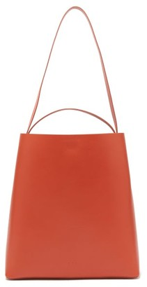 Aesther Ekme Sac Leather Tote Bag - Orange