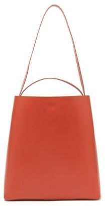 Aesther Ekme - Sac Leather Tote Bag - Womens - Orange