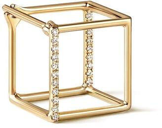 Shihara Diamond Square Earring 10 (01)