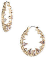 Jenny Packham Crystal Hoop Earrings