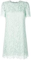 Dolce & Gabbana lace embroidered dress - women - Silk/Cotton/Polyamide/Viscose - 38