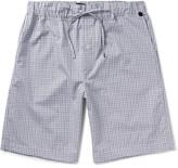 Hanro Checked Cotton Pyjama Shorts