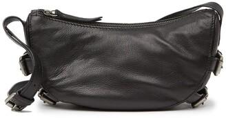 Frye Sindy Buckled Leather Crossbody Bag
