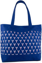 Magid Women's Totebags NAVY - Blue & Red Lobster Tote