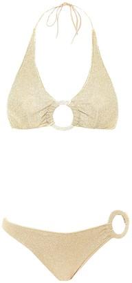 Oseree Halterneck Bikini Set