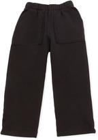 Charlie Rocket Fleece Pants, Black, 2T-4T
