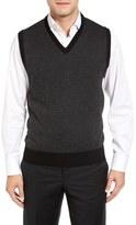 Toscano Men's Geometric Sweater Vest