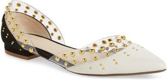 Cecelia New York Studded d'Orsay Flat