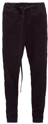 Fear Of God Contrast-panel Technical Track Pants - Mens - Black