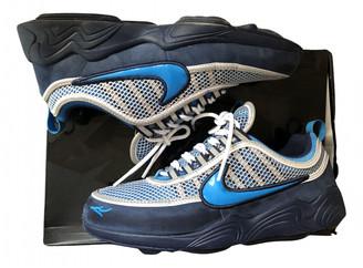 Nike Spiridon Blue Leather Lace ups