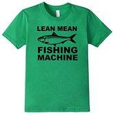 Kids Lean Mean Fishing Machine Kids Shirt for Boys Girls