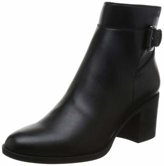 """Geox Women's Asheel 1 Zip Ankle Boot 2.5"""" Heel"""