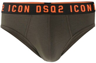 DSQUARED2 Logo Waistband Briefs