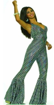 BuySeasons BuySeason Women's Boogie Dancin Babe Costume