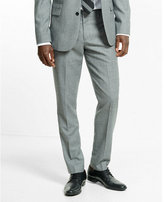 Express slim photographer wool blend suit pant