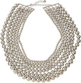 Lydell NYC Layered Multi-Row Ball Bead Necklace
