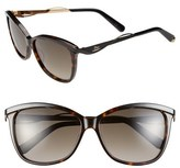Christian Dior Metaleyes 2 57mm Retro Sunglasses