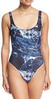 Norma Kamali Mio Super-Low Back One-Piece Swimsuit
