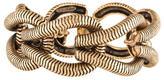 Oscar de la Renta Chain Link Ribbed Bracelet