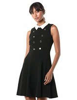 Tommy Hilfiger Women's Collar Fit and Flare Dress