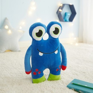 Your Zone Glow in the Dark 3D Plush Figural Pillow, Monster