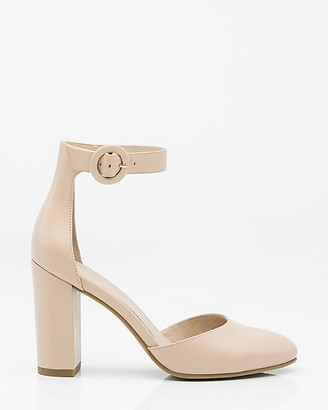 Le Château Leather Ankle Strap Pump