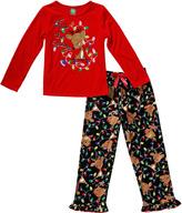 Sweet Heart Rose Red 'Tis the Season' Pajama Set - Toddler & Girls