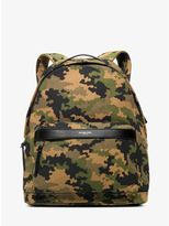 Michael Kors Grant Camouflage Bonded-Canvas Backpack
