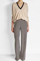 Brunello Cucinelli Cashmere, Wool and Silk Blend Pullover