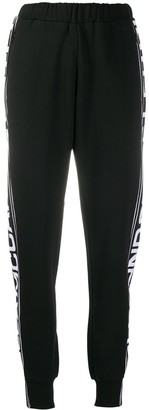 Stella McCartney Logo Stripe Tapered Track Pants