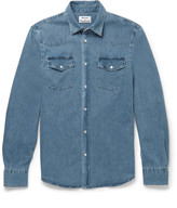 Acne Studios Ewing Washed-denim Shirt