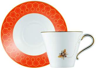 N. Prouna My Honeybee Teacup & Saucer