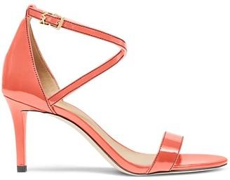 Michael Kors Ava Patent Leather Sandals