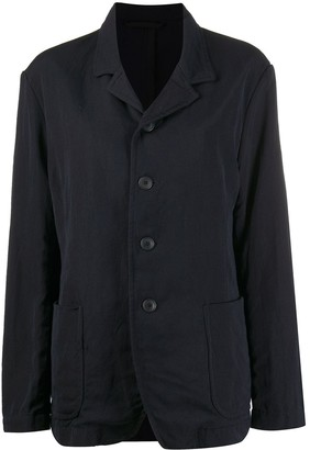 Casey Casey Single-Breast Fitted Jacket