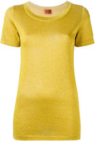 Missoni glitter effect T-shirt - women - Polyester/Rayon/Viscose - 42