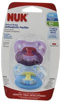 NUK Trendline Whimsy Collection Silicone Pacifiers 0-6M Boy Pack