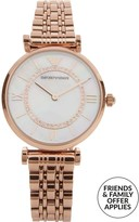 Emporio Armani T-Bar Mother Of Pearl 32mm Bracelet Watch
