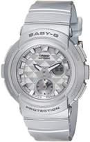 Casio Women's Baby G BGA195-8A Rubber Quartz Sport Watch