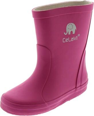CeLaVi Unisex Adults Basic Wellies Rain Boot