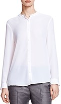 The Kooples Crepe Button-Up Shirt
