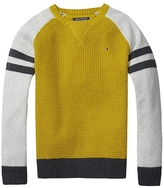 Tommy Hilfiger Th Kids Mixed Knit Sweater