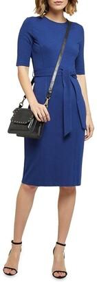 Oxford Zooey Ponti Dress