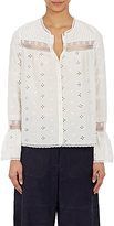 Ulla Johnson Women's Eyelet Inga Blouse