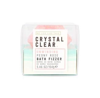 clear WLLT Crystal Gem Bath Fizzer Rose & Lavender