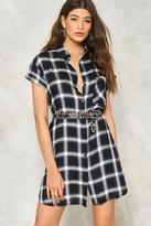 Nasty Gal nastygal Taylor Plaid Shirt Dress
