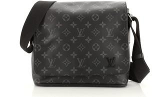 Louis Vuitton District Messenger Bag Monogram Eclipse Canvas PM