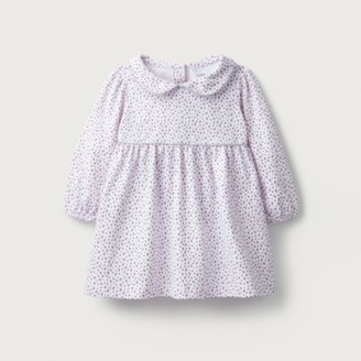 The White Company Ditsy Berry Jersey Dress, Multi, 12-18mths