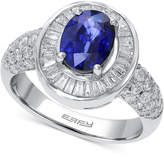 Effy Royalé Blue by Sapphire (1-3/8 ct. t.w.) and Diamond (9/10 ct. t.w.) Ring in 14k White Gold