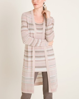 Travelers Collection Striped Cardigan