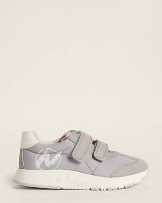 Naturino Toddler/Kids Boys) Grey Lewis Nylon Low-Top Sneakers